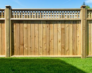 Stockade fences in New Haven, Woodbridge, Trumbull, North Haven, Milford