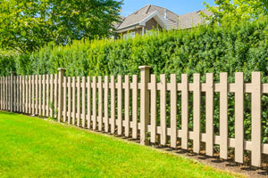 wood fence installation in Milford